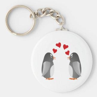 verliebte Pinguine penguins love Schlüsselanhänger