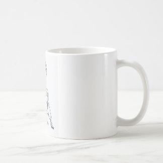 Verlieren des Partners Kaffeetasse