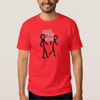 Verlieren eines Elektronwitz-T - Shirt