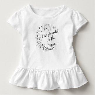 Verlieren Sie sich in der Musik. Kleinkind T-shirt