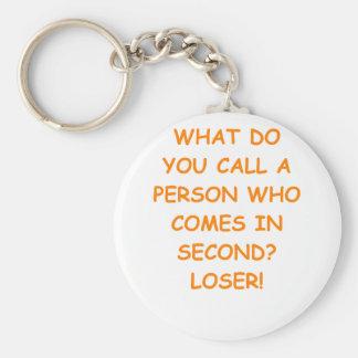 Verlierer Schlüsselanhänger