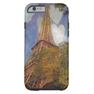 verließ mein Herz in Paris Tough iPhone 6 Hülle