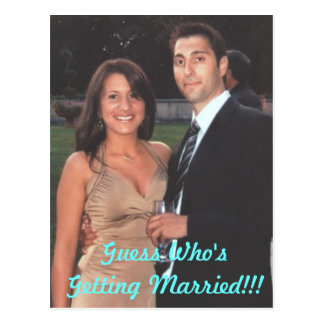 verlobt, Vermutung, die!! verheiratet erhält! Postkarte