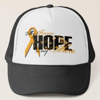 Verlobte mein Held - Leukämie-Hoffnung Truckerkappe