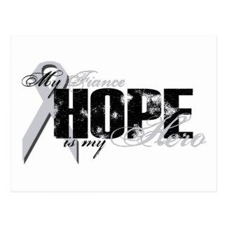 Verlobte mein Held - Lungen-Hoffnung Postkarte
