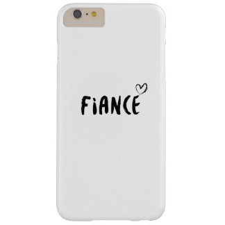 Verlobte-verlobte Hochzeits-verheiratete Barely There iPhone 6 Plus Hülle