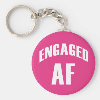 Verlobtes AF lustiges keychain Schlüsselanhänger