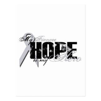 Verlobtes mein Held - Lungen-Hoffnung Postkarte
