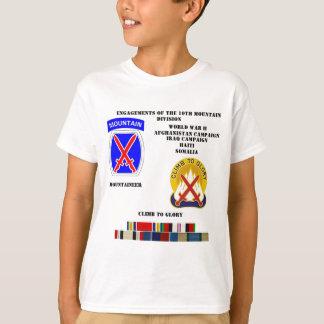 Verlobungen der 10. Gebirgsabteilung T-Shirt