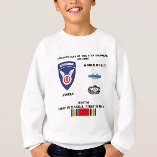 Verlobungen der 11. im Flugzeug Abteilung Sweatshirt