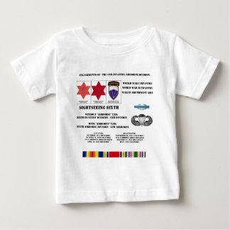 Verlobungen der 6. Infanterie/der im Flugzeug Baby T-shirt