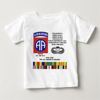 Verlobungen der 82. im Flugzeug Abteilung Baby T-shirt
