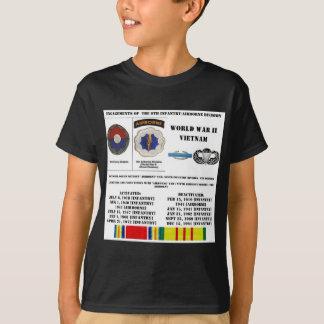 Verlobungen der 9. Infanterie/der im Flugzeug T-Shirt