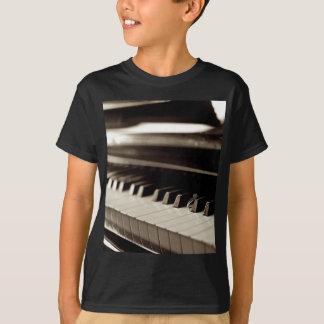 Verlobungs-Klavier-Schlüssel T-Shirt