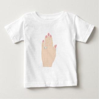 Verlobungs-Ring Baby T-shirt