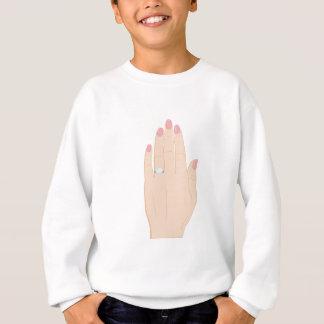 Verlobungs-Ring Sweatshirt
