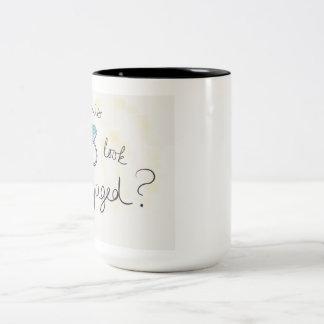 Verlobungs-Tasse Zweifarbige Tasse