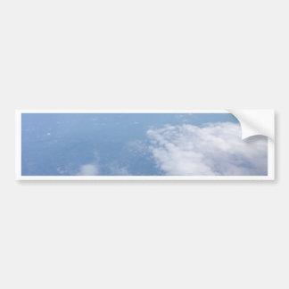 Verloren in den Wolken Autoaufkleber