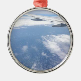 Verloren in den Wolken Silbernes Ornament