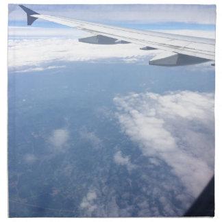 Verloren in den Wolken Stoffserviette
