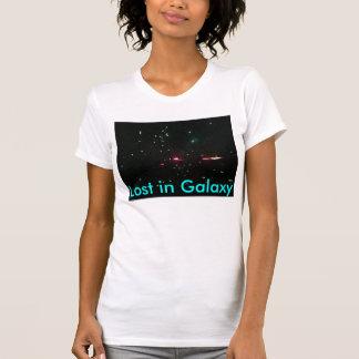 """""""Verloren in der Galaxie"""" Damen-zierliches T-Stück T-Shirt"""
