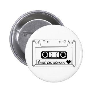 Verloren in der klassischen StereoKassette Buttons