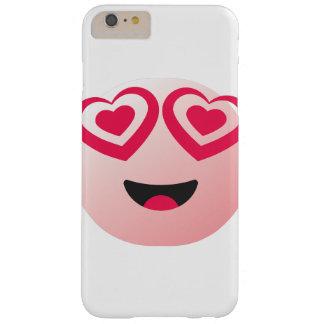 verloren in der Liebe Emoticonabdeckung Barely There iPhone 6 Plus Hülle