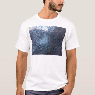 Verloren -- mit defektem Glas und Karte T-Shirt