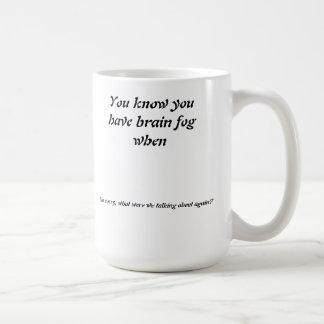 Verlorene Konzentration Kaffeetasse