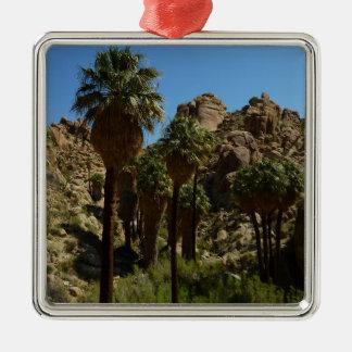 Verlorene Palmen-Oase I am Silbernes Ornament