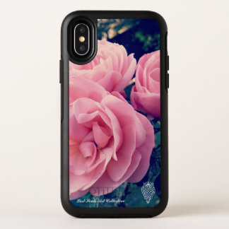Verlorene Soul-rosa Rose Iphone X Fall OtterBox Symmetry iPhone X Hülle