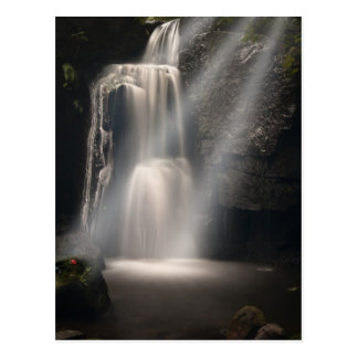 Verlorener Liebe-Wasserfall Postkarte