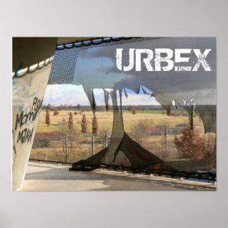Verlorener Platz 01,0, URBEX, Ausstellung 2000, Poster