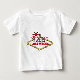 Verlorenes Wages_ Baby T-shirt