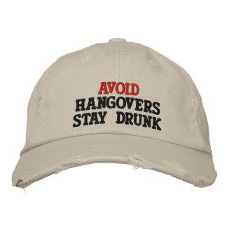 VERMEIDEN Sie Bestickte Kappe