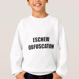 Vermeiden Sie Verwirrung Sweatshirt
