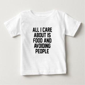 Vermeidung der Leute Baby T-shirt