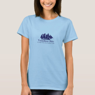 Vermilion Ohio-Logo-Einzelteile T-Shirt