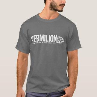 VERMILION u. wütendes moschusartiges Logo T-Shirt