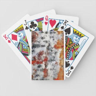 vermischte Farben Bicycle Spielkarten