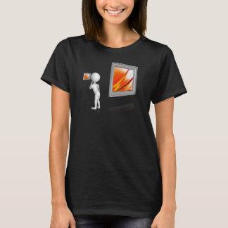 Vermisst das große Bild T-Shirt