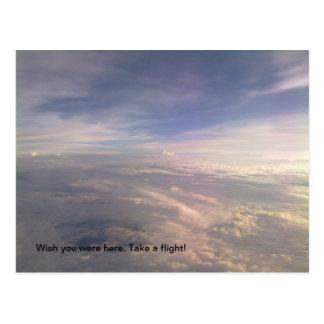 Vermisst Sie Postkarte