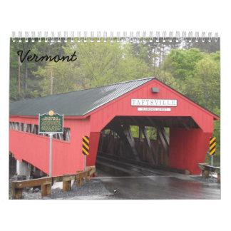 Vermont 2018 wandkalender