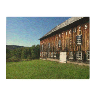 Vermont-Antiken an einem perfekten Tag Holzwanddeko