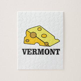 Vermont-Cheddarkäse Puzzle