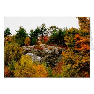 Vermont-Herbst Karte