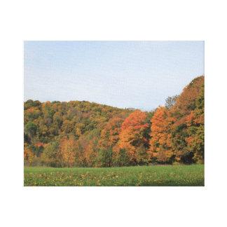 Vermont-Herbst-Landschaft 2016 Leinwanddruck