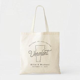 Vermont-Hochzeits-Willkommens-Taschen-Tasche Tragetasche