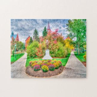 Vermont im Fall Puzzle