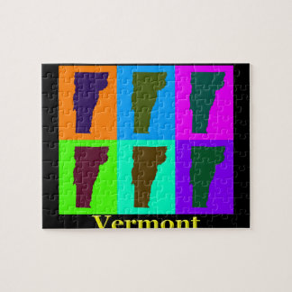 Vermont-Karte Puzzle